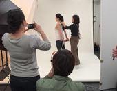 女性誌Saitaの撮影と取材に。来年1月号カラーで掲載予定