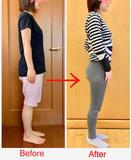 ゆっくりなペースで続けても、体脂肪4%減に!パーソナルで、初めて骨盤の歪みと自分の癖があることに気が付きました